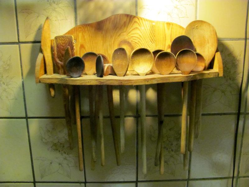 Holzlöffel aus Omas Zeiten