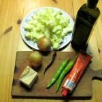 Chili und Tomatenmark
