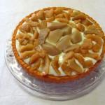 Apfel-Birnenkuchen mit Vanillepudding