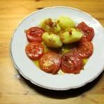 Kartoffeln mit Tomaten