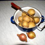 Kartoffelbrei mit Zwiebeln