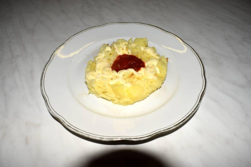 Kartoffelstampf mit Rote Beete