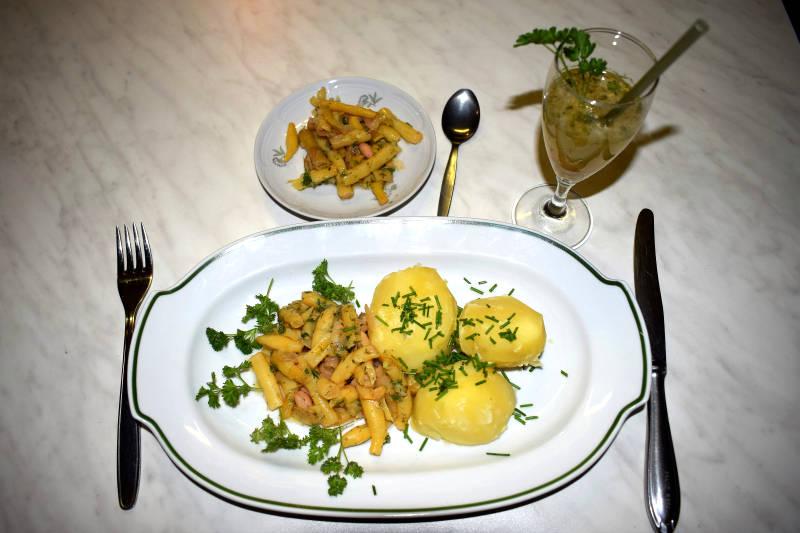 Bohnensalat süß und sauer