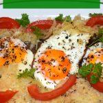 Spiegelei mit Sauerkraut