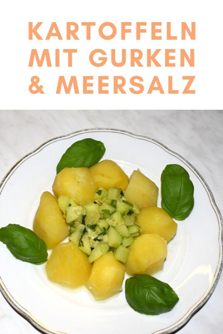 Kartoffeln mit Gurken