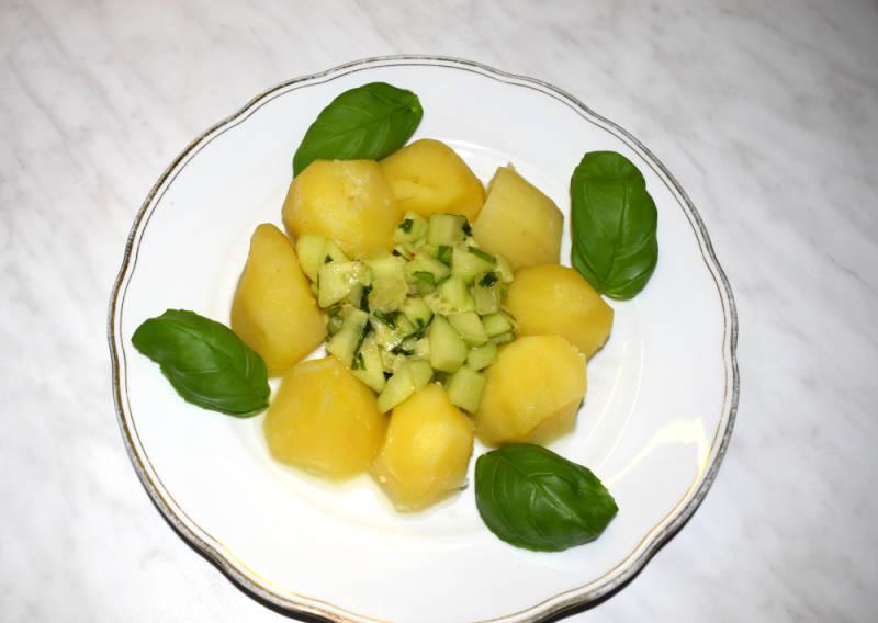Kartoffeln mit Meersalz